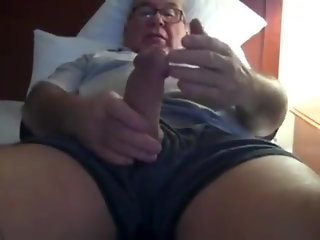 daddy amateur handjob
