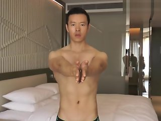 hunk asian solo male