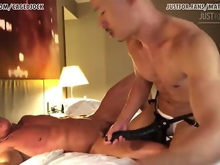 daddy asian gaping